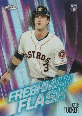 2019 Topps Chrome Baseball Freshman Flash Kyle Tucker