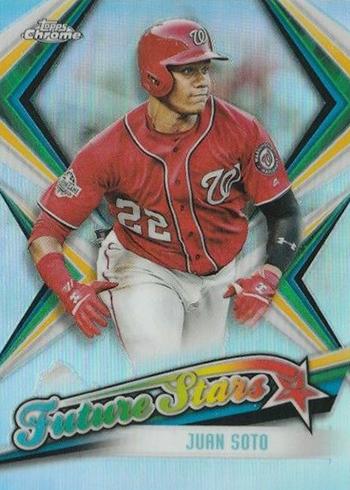 2019 Topps Chrome Baseball Future Stars Juan Soto