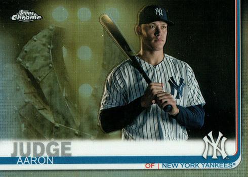 2019 Topps Chrome Baseball Image Variations 100 Aaron Judge
