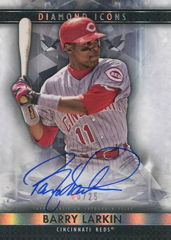 2019 Topps Diamond Icons Baseball Autographs Barry Larkin