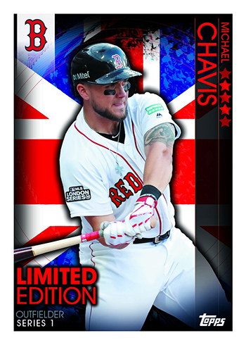 2019 Topps Uk On Demand London Series Baseball Checklist Details