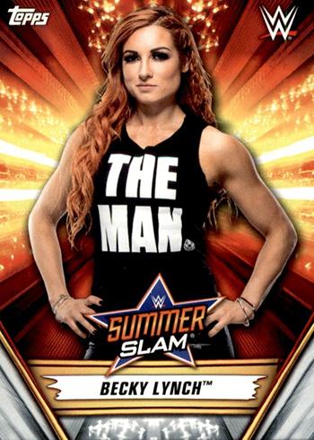 2019 Topps WWE SummerSlam 44 Becky Lynch