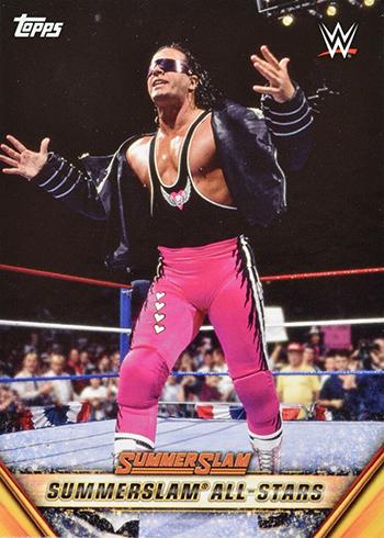 2019 Topps WWE SummerSlam All-Stars Bret Hart