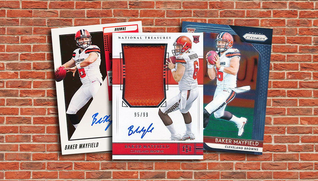 Baker Mayfield Rookie Card Countdown And Whats The Most Valuable