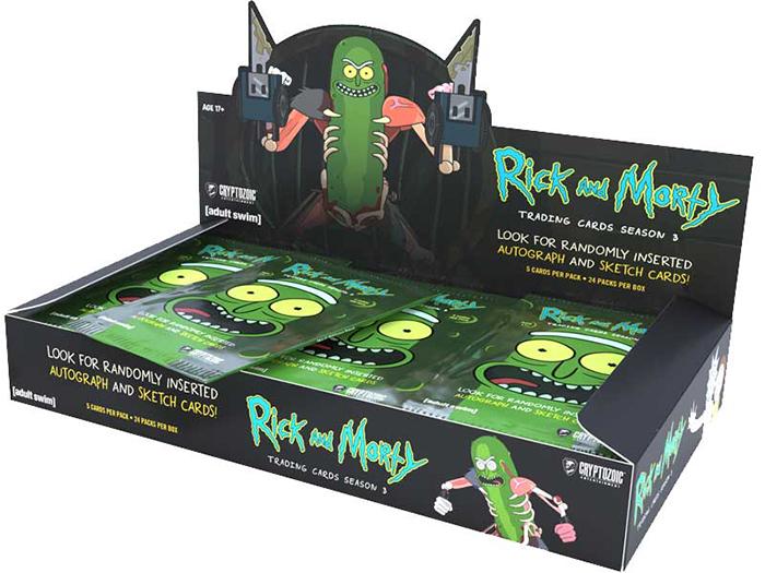 Cryptozoic Rick and Morty Season 3 Hobby Box