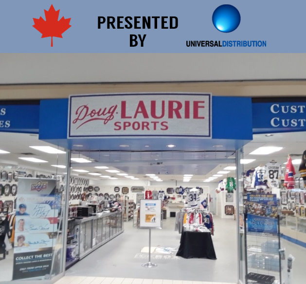 Canadian Local Card Shop of the Week: Doug Laurie Sports (Barrie, ON)