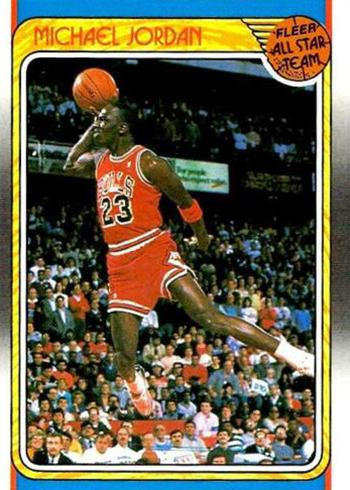 1988-89 Fleer Michael Jordan 120