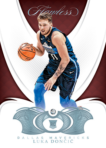 2018-19 Panini Flawless Basketball Base Doncic