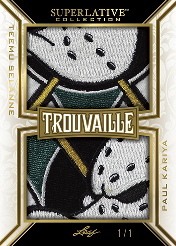 2019-20 Leaf Superlative Collection Hockey Trouvaille B
