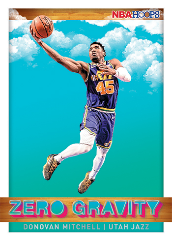 2019-20 Panini NBA Hoops Basketball Zero Gravity