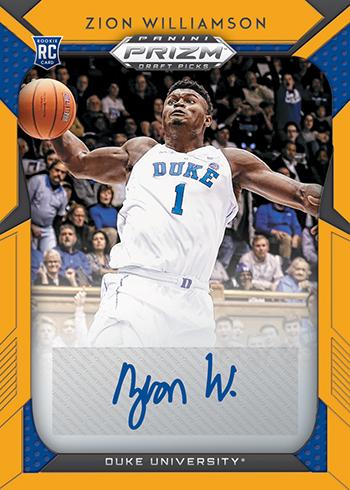 2019-20 Panini Prizm Draft Picks Basketball Draft Picks Prizms Gold Signatures