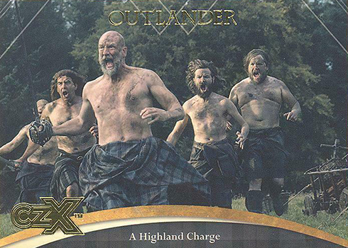 2019 Cryptozoic Outlander CZX Base 35
