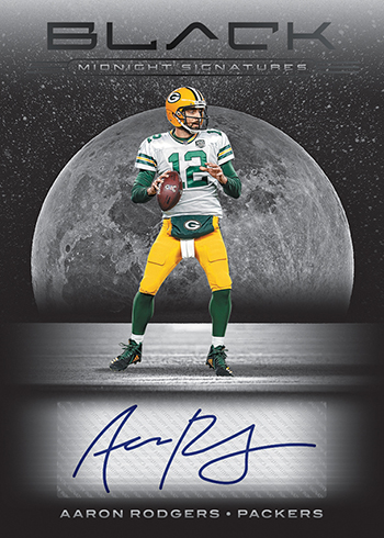 2019 Panini Black Football Midnight Signatures