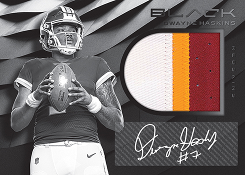2019 Panini Black Football Rookie Patch Autograph