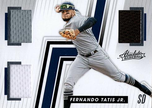 2019 Panini Chronicles Baseball Absolute Memorabilia Fernando Tatis Jr