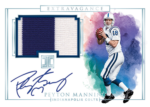 2019 Panini Impeccable Football Extravagance