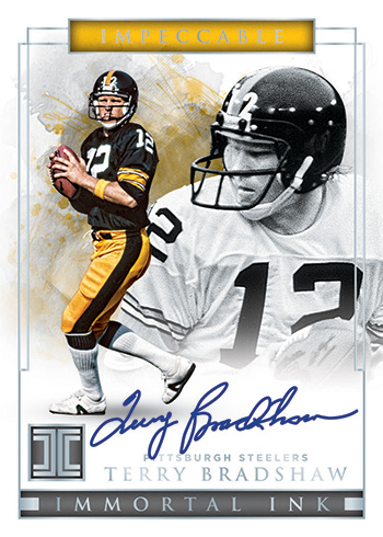 2019 Panini Impeccable Football Immortal Ink