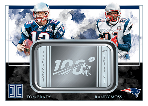 2019 Panini Impeccable Football Impeccable NFL 100 Dual
