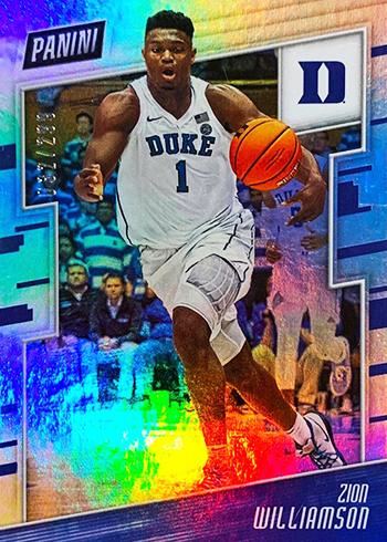 2019 Panini National Convention Basketball Prospects Zion Williamson