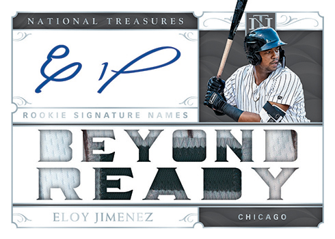 2019 Panini National Treasures Baseball Rookie Signature Names