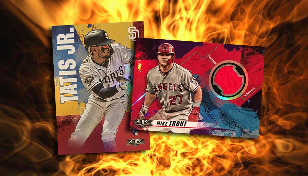 2019 Topps Fire Baseball Checklist Team Set Lists Pack Odds