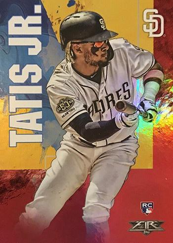 2019 Topps Fire Baseball Fernando Tatis Jr