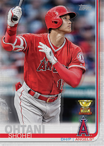 2019 Topps On-Demand 3D Baseball Shohei Ohtani