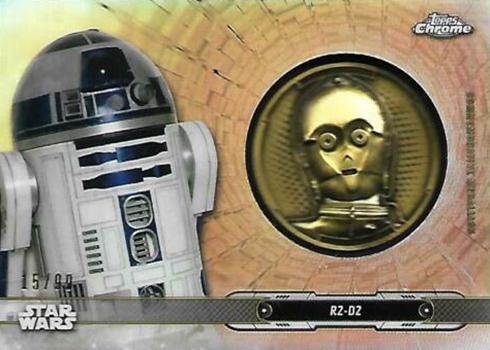 2019 Topps Chrome Star Wars Base #59 Wookiee Rage