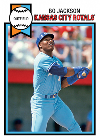 2019 Topps Throwback Thursday 189 Bo Jackson