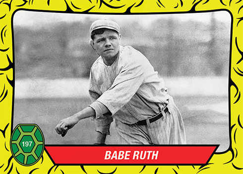2019 Topps Throwback Thursday Baseball 197 Babe Ruth