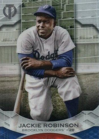 2019 Topps Tribute Baseball Jackie Robinson