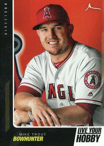 2019 Topps x Gar Vee Direct 360 Mike Trout Live Your Hobby