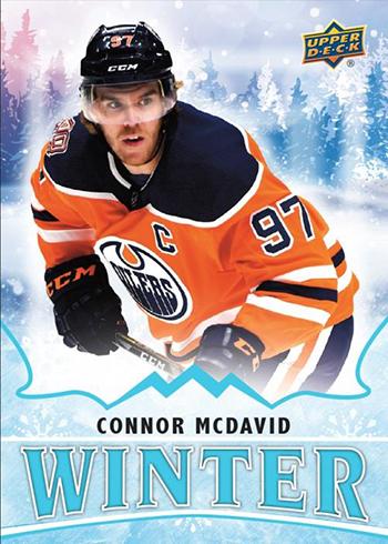 2019 Upper Deck Singles Day Winter Packs Connor McDavid