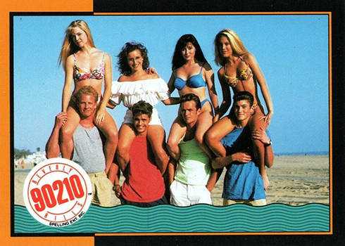 1991 Topps Beverly Hills 90210 Checklist, Trading Card Details
