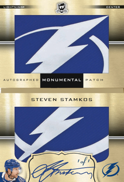 2018-19 Upper Deck The Cup Hockey Monumental Autograph Patch