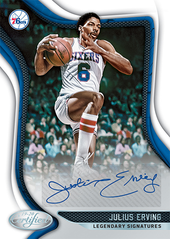 2019-20 Panini Certified Basketball Legendary Signatures