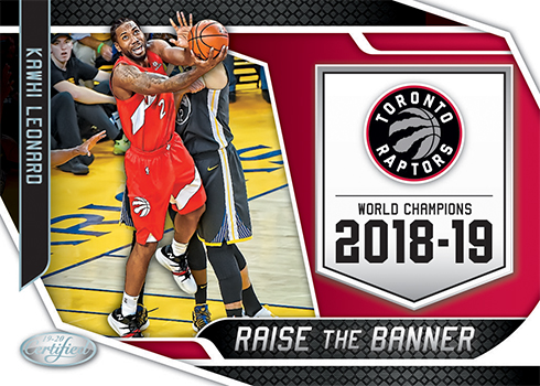 2019-20 Panini Certified Basketball Raise the Banner