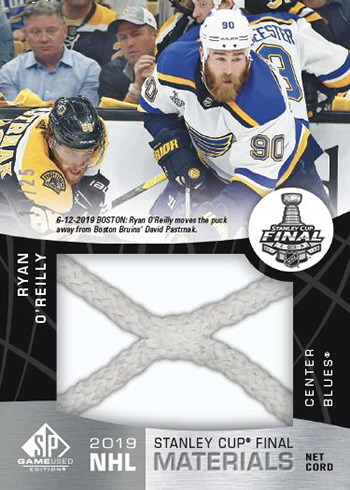 2019-20 SP Game Used Hockey Stanley Cup Finals Materials