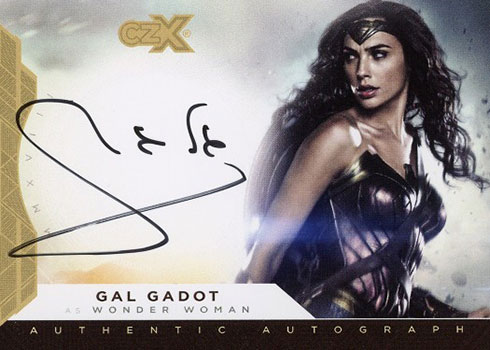 2019 Cryptozoic CZX Super Heroes and Super-Villains Gal Gadot Autograph