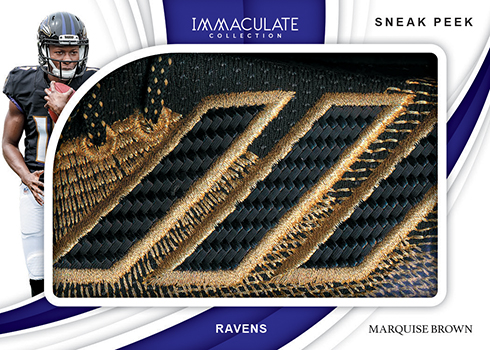 2019 Panini Immaculate Collection Football Sneak Peek