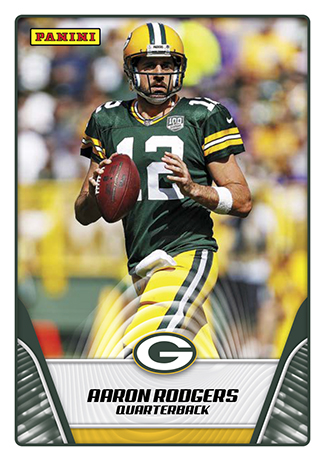 2019 Panini NFL Stickers Aaron Rodgers