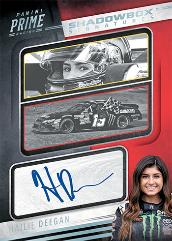 2019 Panini Prime Racing Shadowbox Signatures
