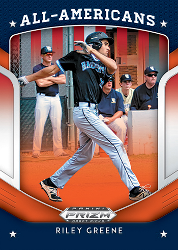 2019 Panini Prizm Draft Picks Baseball All-American