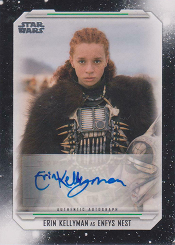 2019 Topps Star Wars Skywalker Saga Autographs Erin Kellyman