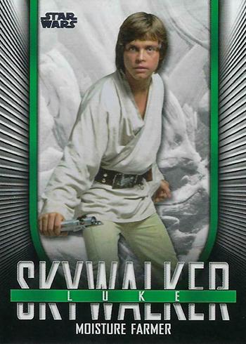 2019 Topps Star Wars Skywalker Saga Iconic Looks Luke Skywalker
