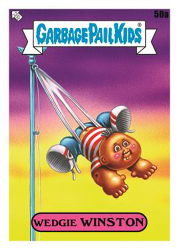 2020 Topps Garbage Pail Kids Series 1 Late to School Base D