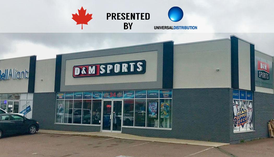 revendeur 0ec74 af5d8 Local Card Shop of the Week: D&M Sports (Halifax, NS ...