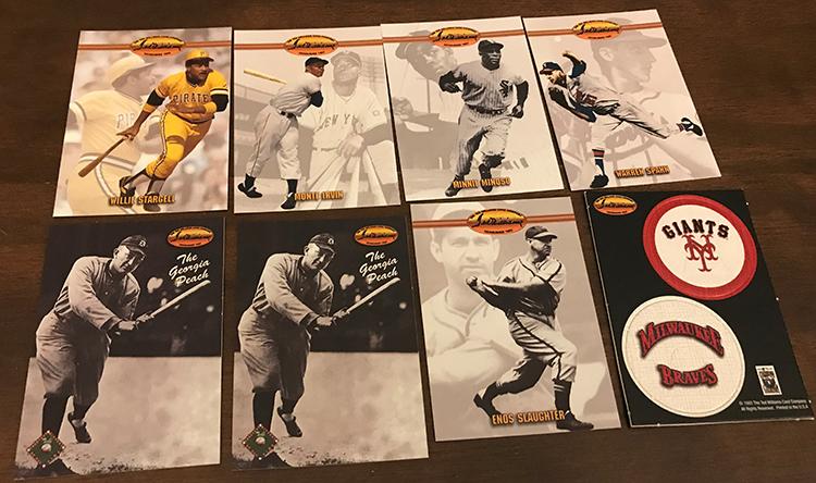 1993 Ted Williams Baseball Cards Box Break and Breakdown