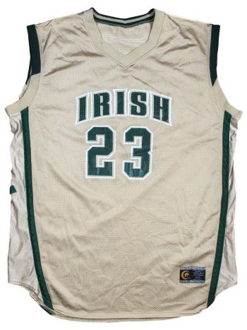 the best attitude b2db4 e0cc8 Famous LeBron James S.I. Cover Jersey Up For Auction ...