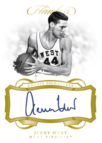 2019 Panini Flawless Collegiate Basketball Great Signatures
